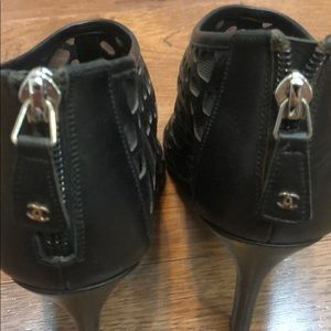 CHANEL Shoes - AUTHENTIC CHANEL BOOTIES